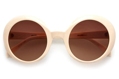 Kaleos Eyehunters - Woodhouse Sunglasses Brown/White