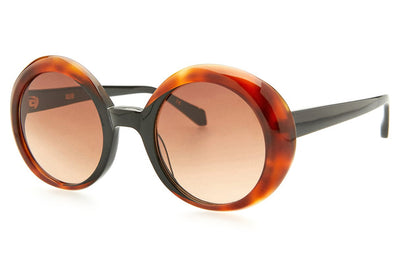 Kaleos Eyehunters - Woodhouse Sunglasses Black/Honey Tortoise