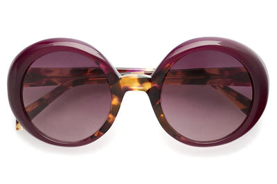 Kaleos Eyehunters - Woodhouse Sunglasses Purple/Tortoise