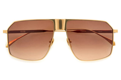 Kaleos Eyehunters - Jewell Sunglasses Gold/Brown