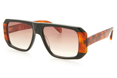 Kaleos Eyehunters - Schofield Sunglasses Black/Honey