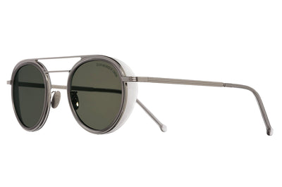 Cutler & Gross - 1270 Sunglasses Palladium and Matte Smokey Quartz
