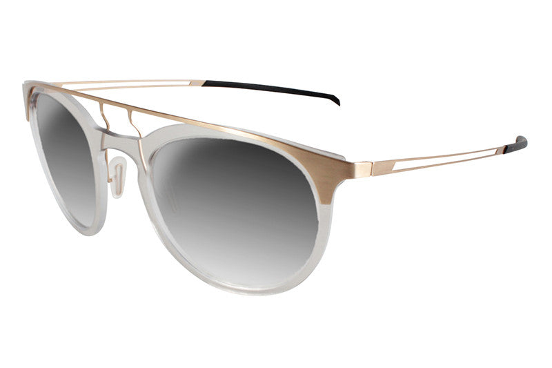 Parasite Eyewear - Anti-Retro 1 Sunglasses Gold-Clear (C25)
