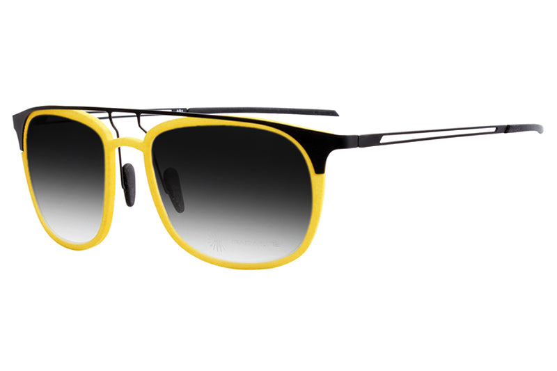 Parasite Eyewear - Anti-Retro 1 | Anti-Matter Sunglasses Black-Yellow (C56M)