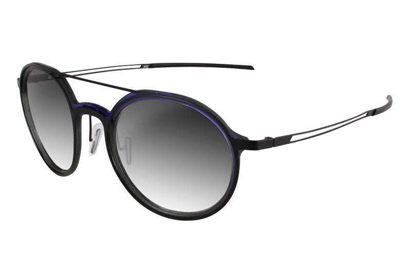 Parasite Eyewear - Anti-Retro 2 Sunglasses Black-Blue (C17)