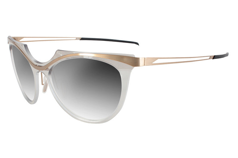 Parasite Eyewear - Anti-Retro 4 Sunglasses Gold-Clear (C25)