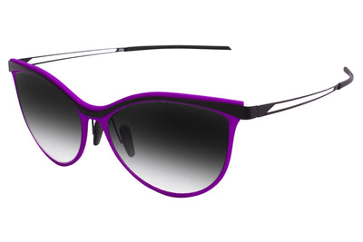 Parasite Eyewear - Anti-Retro 4 | Anti-Matter Sunglasses Black-Purple (C75M)