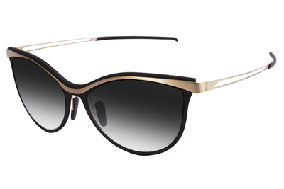 Parasite Eyewear - Anti-Retro 4 | Anti-Matter Sunglasses Black-Gold (C79M)