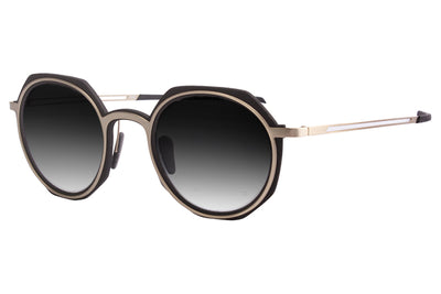 Parasite Eyewear - Anti-Retro 6 | Anti-Matter Sunglasses Black-Gold (C79M)