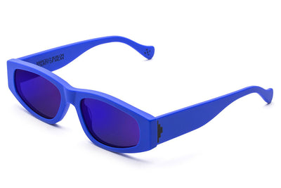 Retro Super Future® - Soberano Sunglasses County Blue Matte