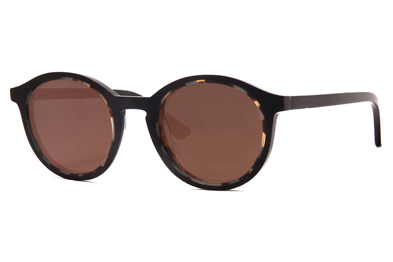 c64333fb7ab Thierry Lasry - Buttery Sunglasses Black   Tortoise ...