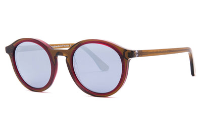 Thierry Lasry - Buttery Sunglasses Olive Green & Burgundy (2256)
