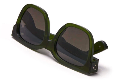 Just Human - Bold Square 01 Sunglasses Forest Green