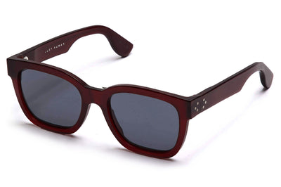 Just Human - Bold Square 01 Sunglasses Crimson Red