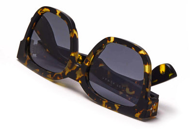 Just Human - Bold Square 01 Sunglasses Yellow Tortoise