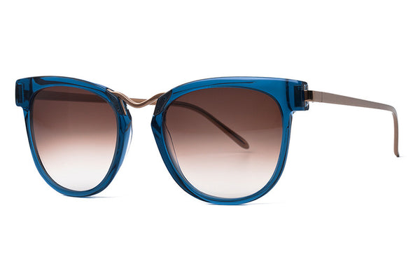 Thierry Lasry - Choky Sunglasses Translucent Blue & Gold (3471)
