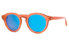 Thierry Lasry - Courtesy Sunglasses Pink & Brown w/ Mirror Lenses