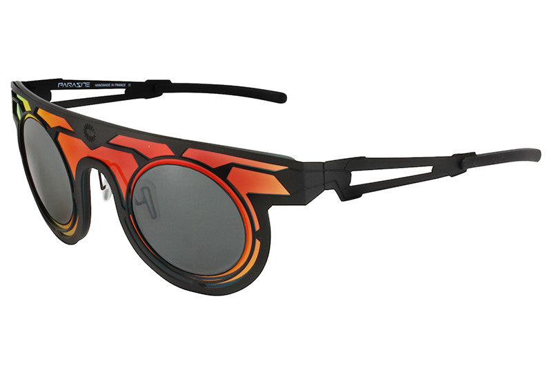 Parasite Eyewear - Cyber 1 Sunglasses Black-Red (C24L)