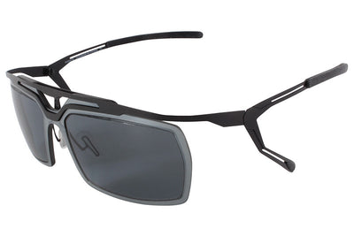Parasite Eyewear - Cyber 5 Sunglasses Black-Grey Polarized (C13P)