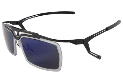 Parasite Eyewear - Cyber 5 Sunglasses Black-Blue LED (C20L)