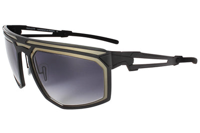 Parasite Eyewear - Cyber 6 Sunglasses Black-Grey Gradient (C13D)