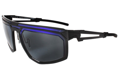 Parasite Eyewear - Cyber 6 Sunglasses Black-Grey Polarized (C13P)