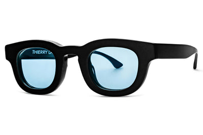 Thierry Lasry - Darksidy Sunglasses Black w/ Light Blue Lenses (101)