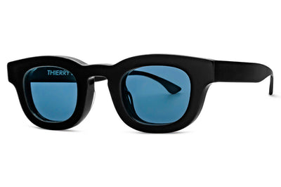 Thierry Lasry - Darksidy Sunglasses Black w/ Navy Blue Lenses (101)