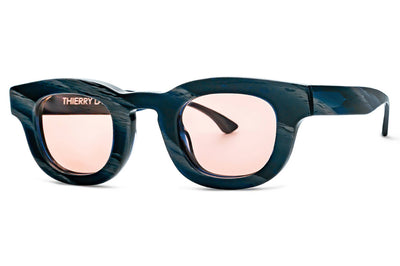 Thierry Lasry - Darksidy Sunglasses Blue Horn w/ Pink Lenses (838)