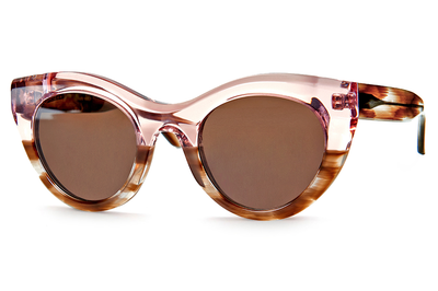 Thierry Lasry - Demony Sunglasses Translucent Pink & Brown Gradient (068)