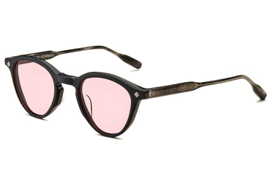 Lunetterie Générale - Dolce Vita SunglassesBlack & Smoke/Palladium with Solid Rose Lenses (Col.I)