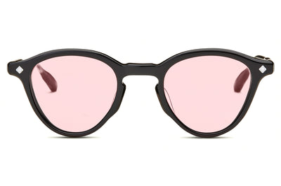 Lunetterie Générale - Dolce Vita Sunglasses Black & Smoke/Palladium with Solid Rose Lenses (Col.I)