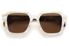 Retro Super Future® - Vasto Sunglasses White Shell Havana