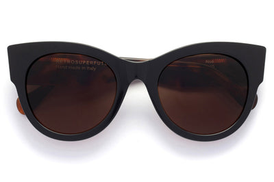 Retro Super Future® - Noa Sunglasses Black Mark