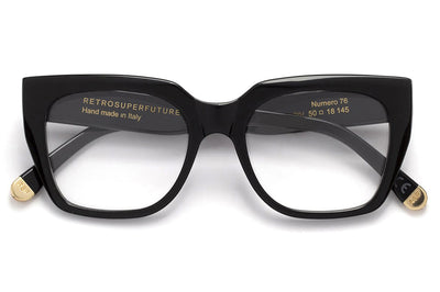 Retro Super Future® - Numero 76 Eyeglasses Nero