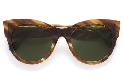 Retro Super Future® - Noa Sunglasses Havana Rigata