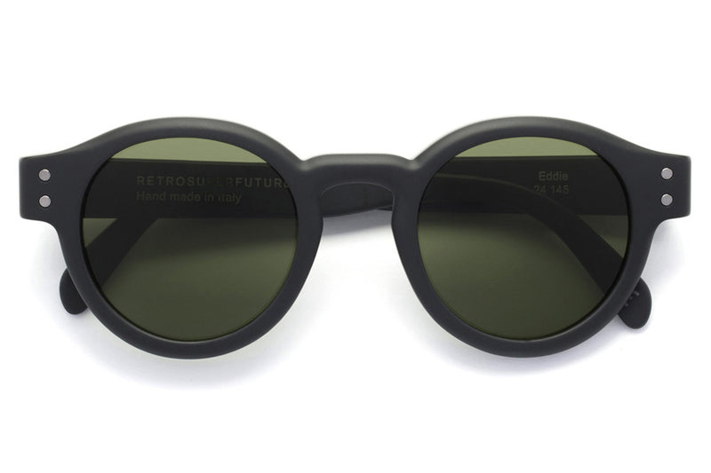 Retro Super Future® - Eddie Sunglasses Black Matte