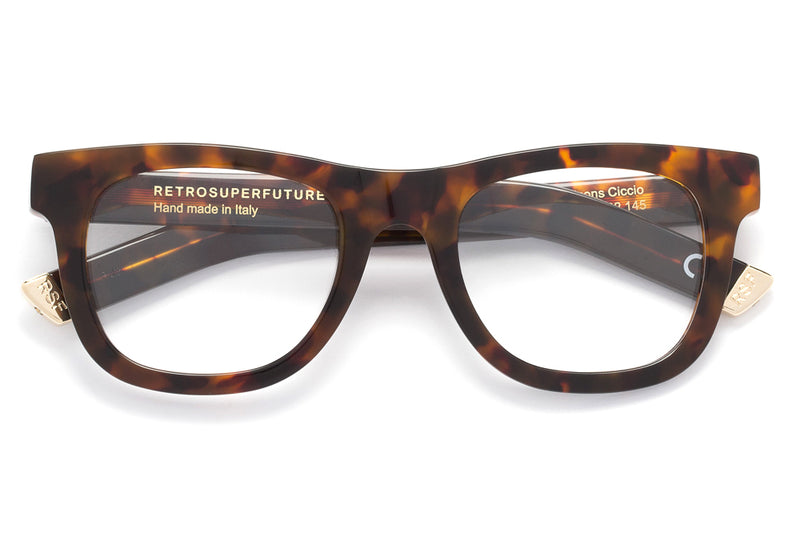 SUPER® by Retro Super Future - Ciccio Eyeglasses Classic Havana