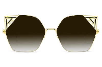 Lool Eyewear - Gatsbi Sunglasses Gold