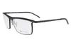 Parasite Eyewear - Quantiq 1 (Anti-Matter) Eyeglasses Black-Chrome (C88M)