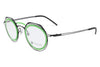 Parasite Eyewear - Genome 8 (Anti-Matter) Eyeglasses Black-Green