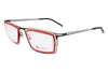 Parasite Eyewear - Genome 1 (Anti-Matter) Eyeglasses Black-Red