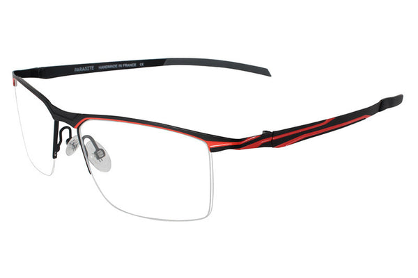 Parasite Eyewear - Mecha 2 Eyeglasses Black-Orange (C57)