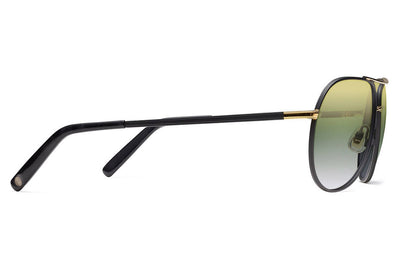 Morgenthal Frederics - Piper Sunglasses Black Matte/Gold