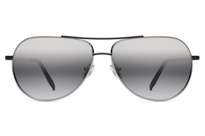 Morgenthal Frederics - Piper Sunglasses Antique Silver/Black