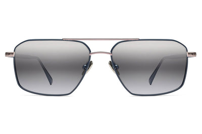 Morgenthal Frederics - Apache XL Sunglasses Navy/Rose Gold
