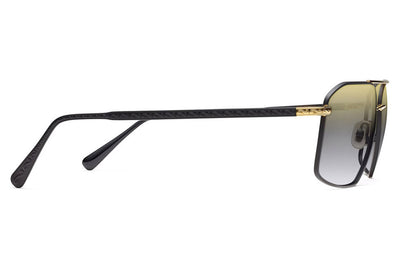 Morgenthal Frederics - Apache XL Sunglasses Matte Black/Gold