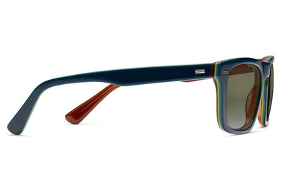 Morgenthal Frederics - Brando Sun Sunglasses Teal/Honey