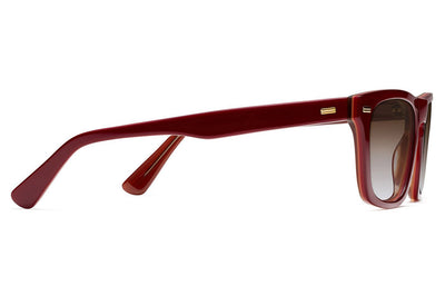 Morgenthal Frederics - Brando Sun Sunglasses Red/Amber