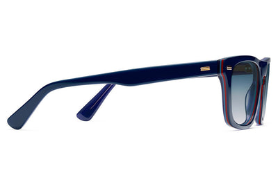 Morgenthal Frederics - Brando Sun Sunglasses Blue/Navy